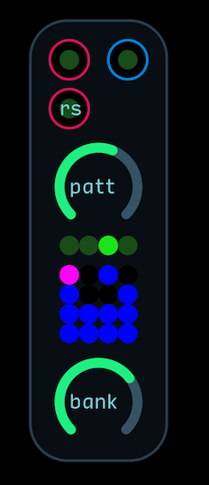 Pattern Bank Gate Sequencer